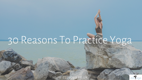 30 Reasons To Practice Yoga