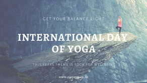 International Yoga Day - Yoga For Wellbeing
