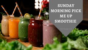 Sunday Morning Pick Me Up Smoothie