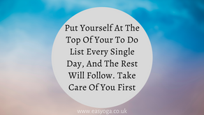 Put Yourself At The Top Of Your To Do List!