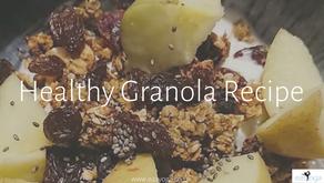Healthy Granola Recipe