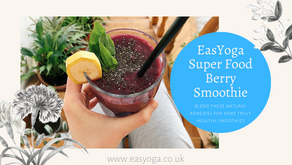 EasYoga Super Food Berry Smoothie
