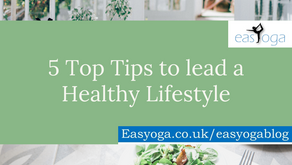 5 Top Tips to lead a Healthy Lifestyle