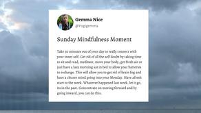 Sunday Mindfulness Moment