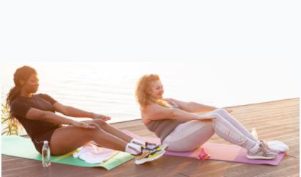 August Outdoor Fitness Yoga- Wednesdays