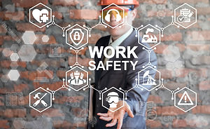 Work Safety Concept - regulations and st