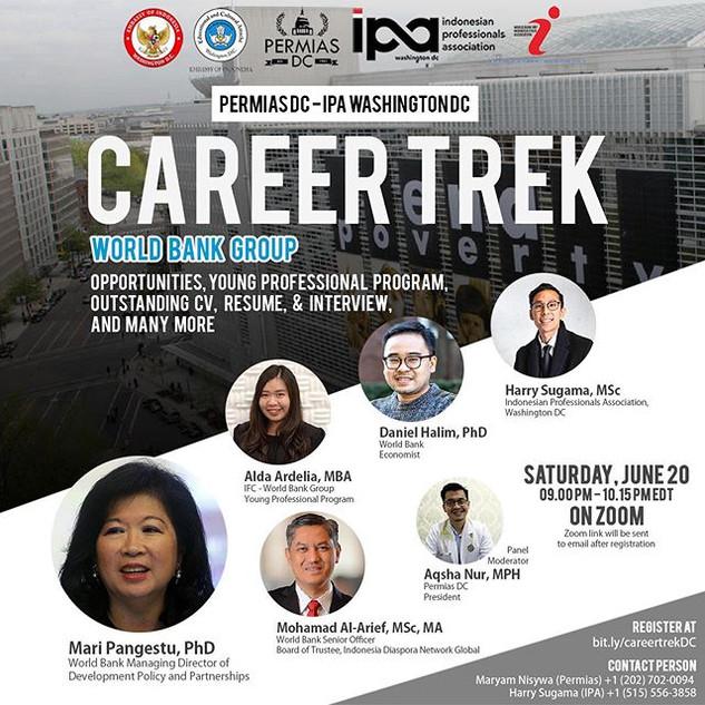 Career Trek Series - World Bank Group