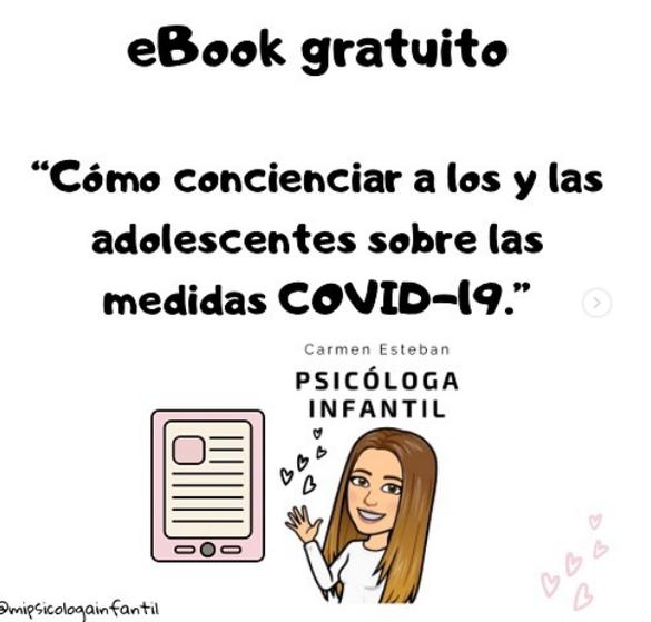eBook ¿Cómo concienciar a los jóvenes para seguir las medidas COVID-19?