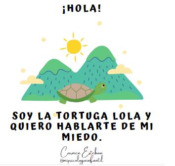 """Cuento y Juego """"La Tortuga Lola"""" para trabajar el Miedo."""