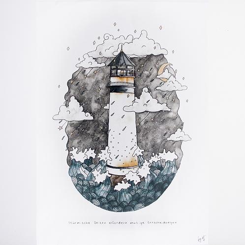 Print 'Nachtturm' DIN A3