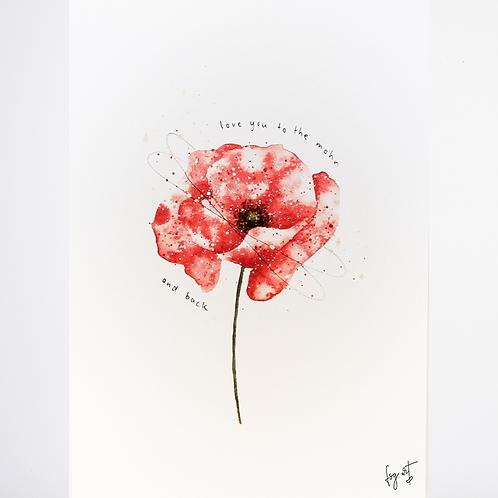 Print 'Mohnblume'