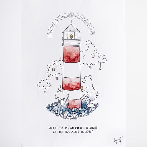 Print 'Leuchtturm' DIN A3