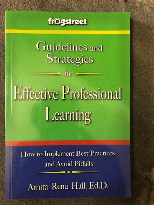 Guidelines and Strategies for Effective Professional Learning