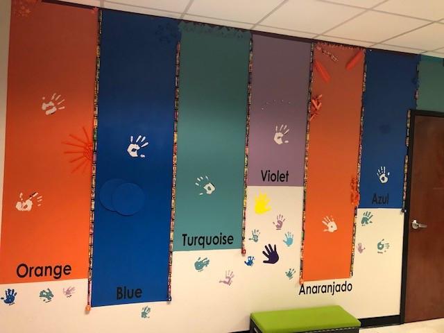 GME color wall