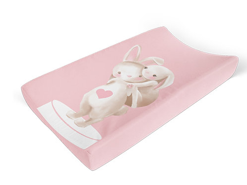 Bunny Change Mat Cover