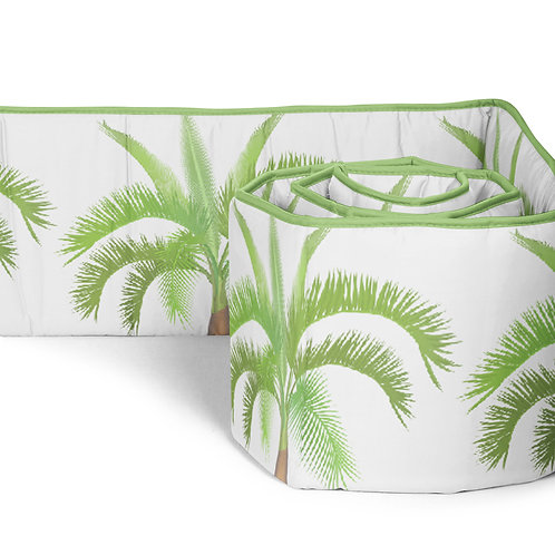 Wild Animals Crib Bumper