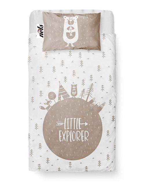 2 Piece Little Explorer Baby Bedding