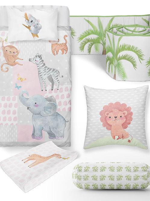 Wild Animals Baby Bedding