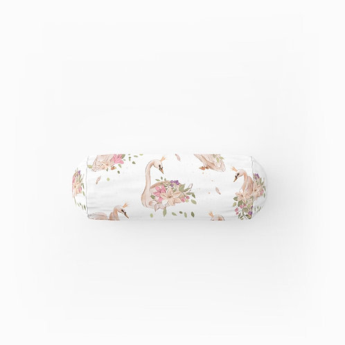 Swan Bolster Cushion