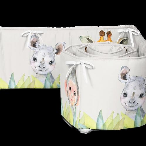 Safari Crib Bumper