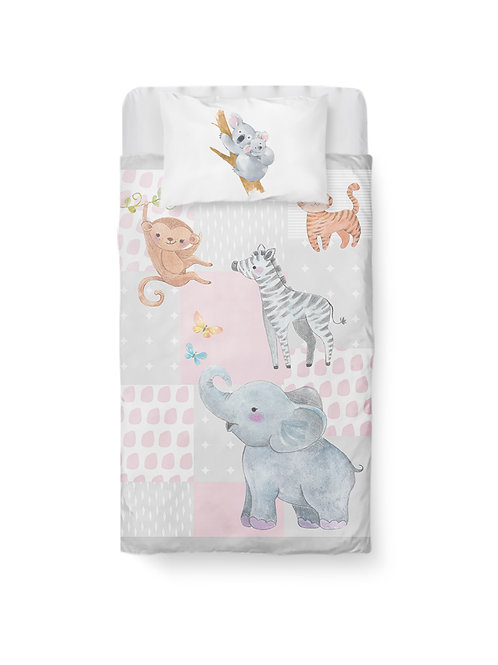 Wild Animals Baby Bedding