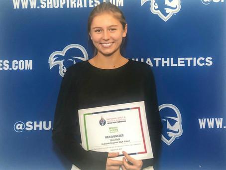 National Girls & Women in Sports Day Award Winner