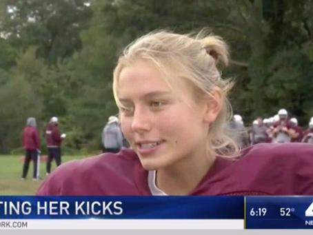 Meet the NJ Girl Playing on Boys Football Team