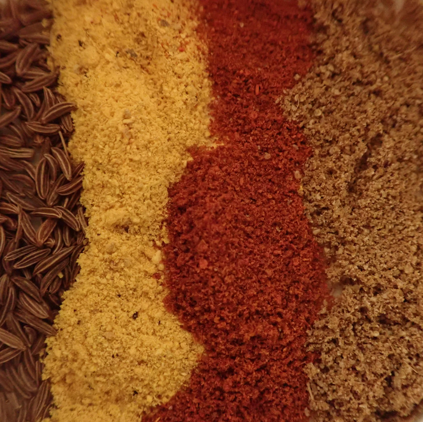 Winter herbs and spices