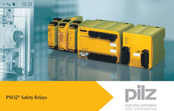 PILZ SAFETY RELAY in Egypt by 3ES