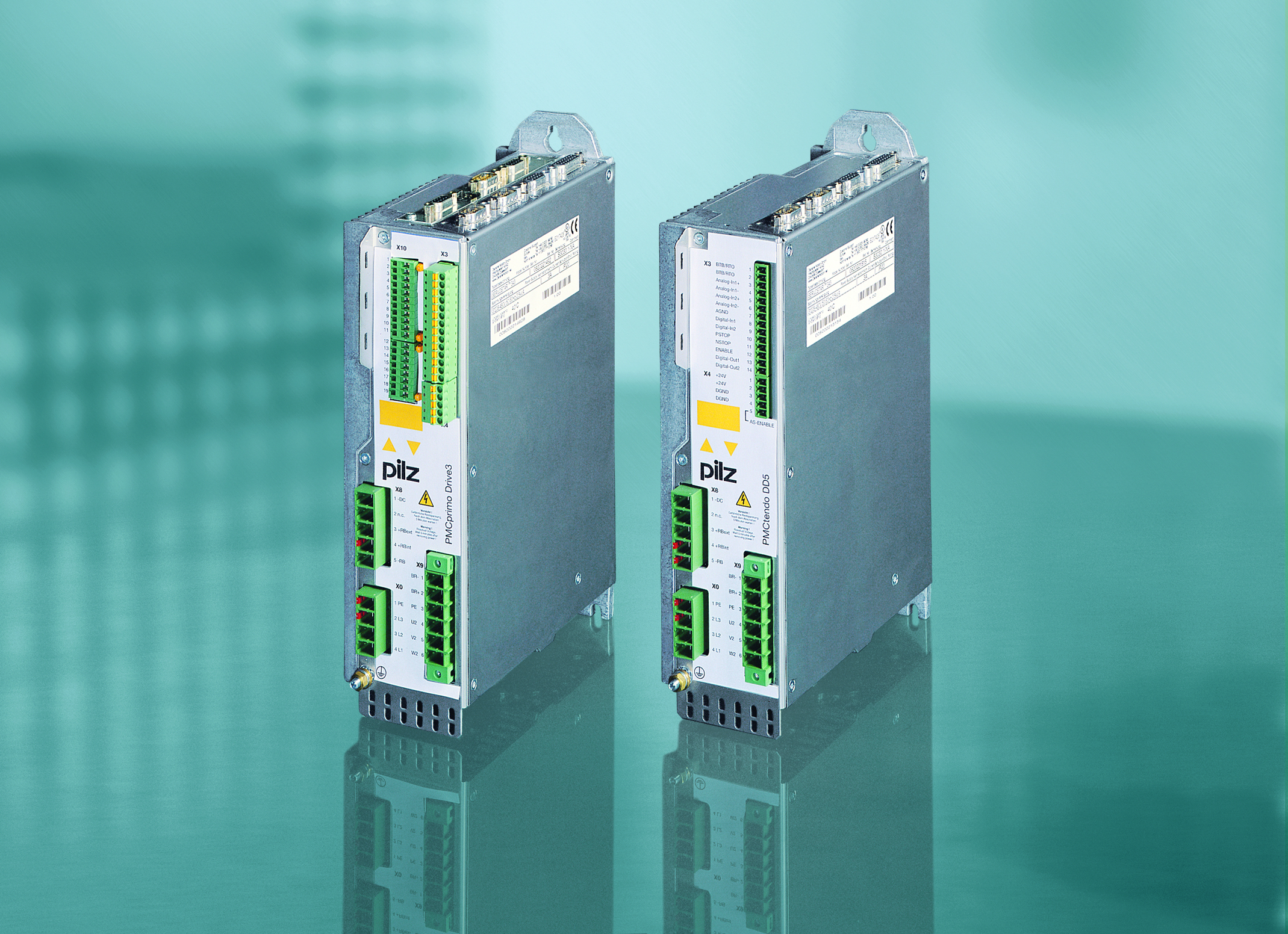 Modern servo amplifiers from Pilz