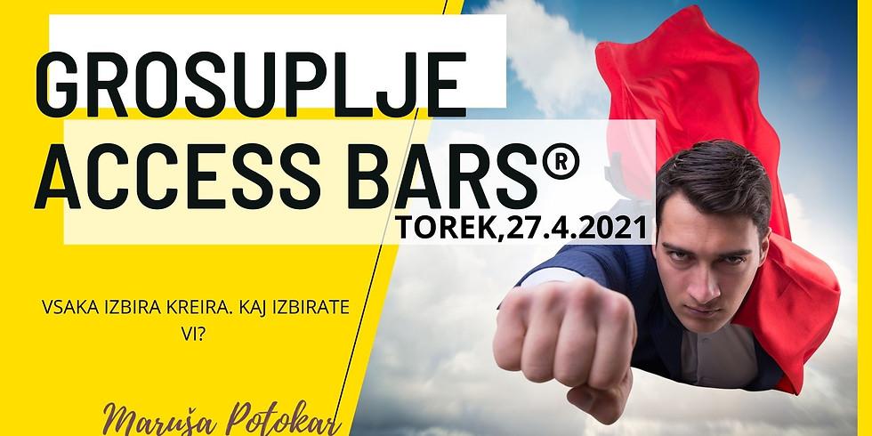 Grosuplje: Certificiran tečaj Access Bars®  z Marušo