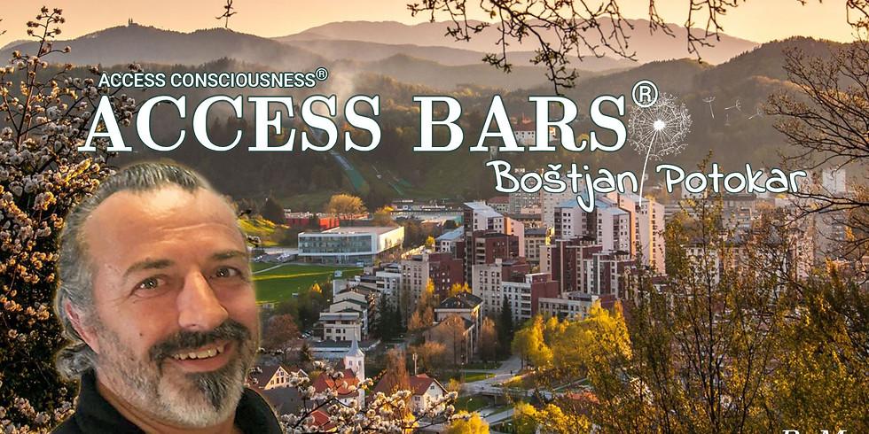 Velenje: Certificiran tečaj Access Bars® z Boštjanom