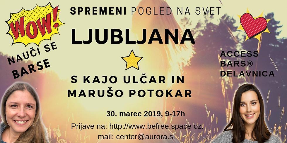 Ljubljana: Delavnica Access Bars® s Kajo in Marušo