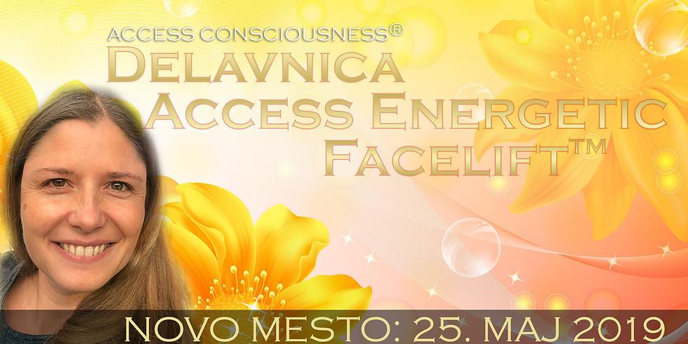 Novo mesto: Tečaj Access Energetic Facelift™ z Marušo
