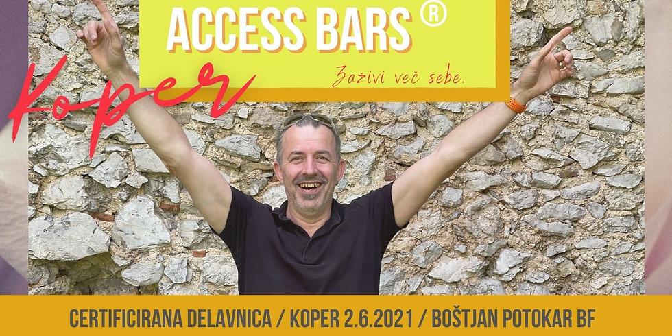 Koper: Certificiran tečaj Access Bars®  z Boštjanom