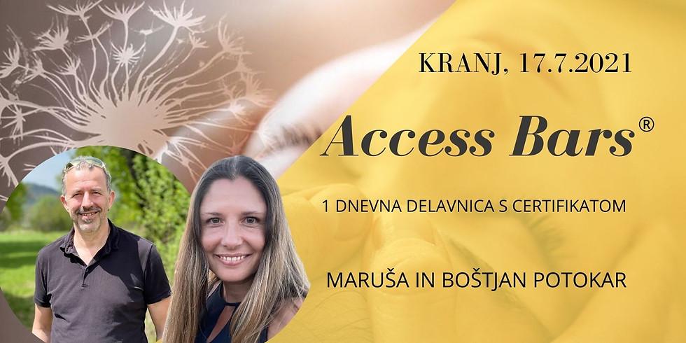 Kranj: Certificiran tečaj Access Bars®