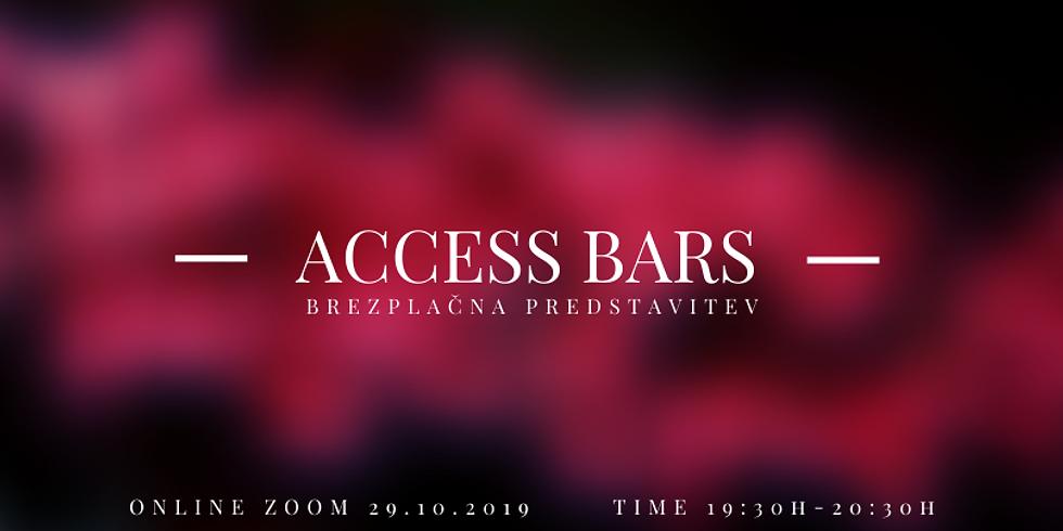 Online: Brezplačni zoom Predstavitev Access Bars
