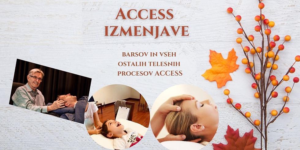 Novo mesto: Access izmenjave barsov in vseh telesnih procesov