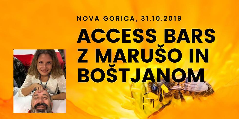 Nova Gorica: Certificiran tečaj Access Bars® z Marušo in Boštjanom