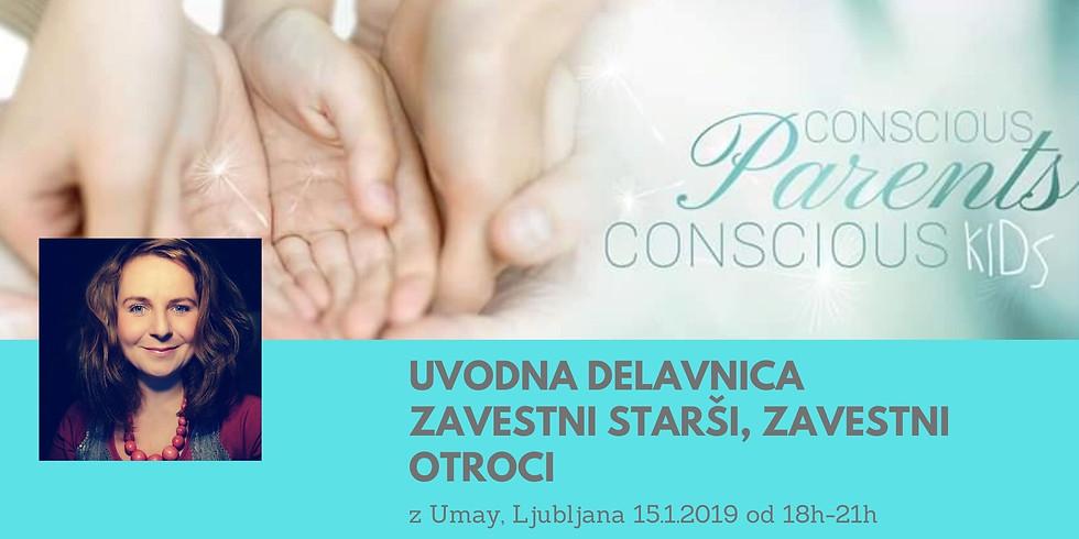 Ljubljana: 3 urna delavnica Zavestni starši, zavestni otroci z Umay