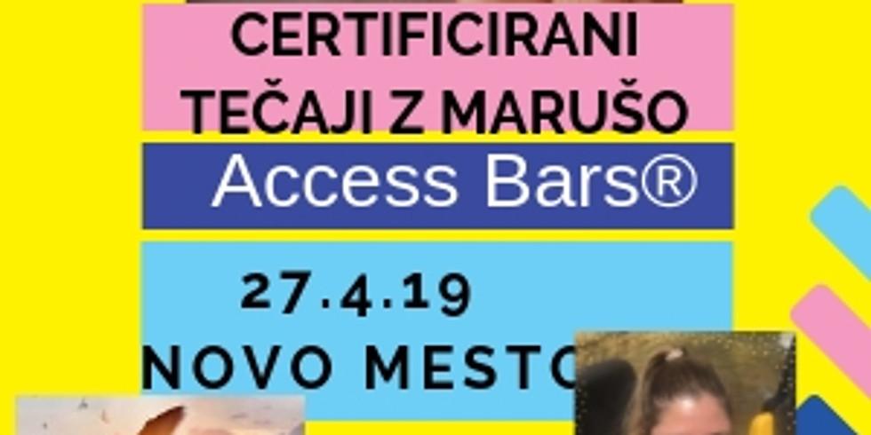 Novo mesto: Certificiran tečaj Access Bars® z Marušo