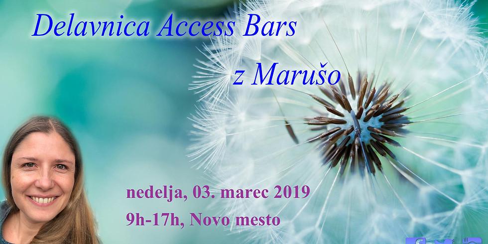 Novo mesto: Delavnica Access Bars® z Marušo