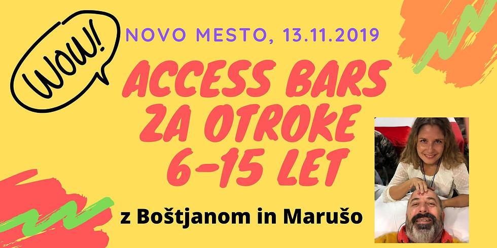 Novo mesto: Certificiran tečaj Access Bars za otroke®