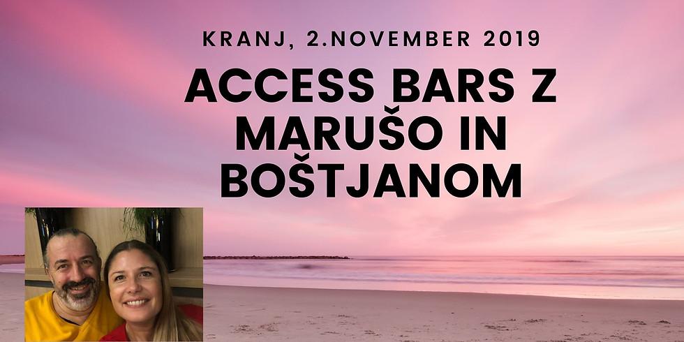 Kranj: Certificiran tečaj Access Bars® z Marušo in Boštjanom