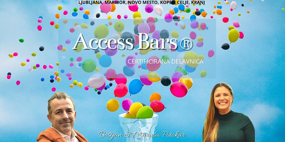 Ljubljana: Certificiran tečaj Access Bars®