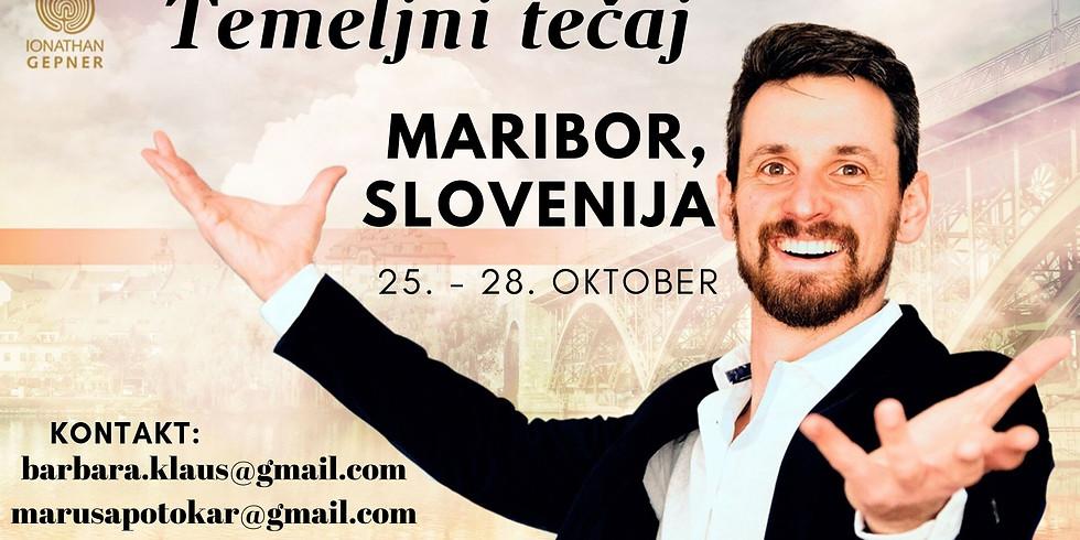 Maribor: 4-dnevni tečaj TEMELJI z Ionathan Gepner-jem