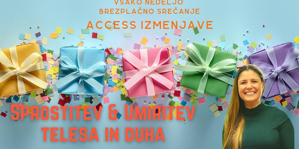 Online brezplačne Access izmenjave: Sprostitev in umiritev z Marušo