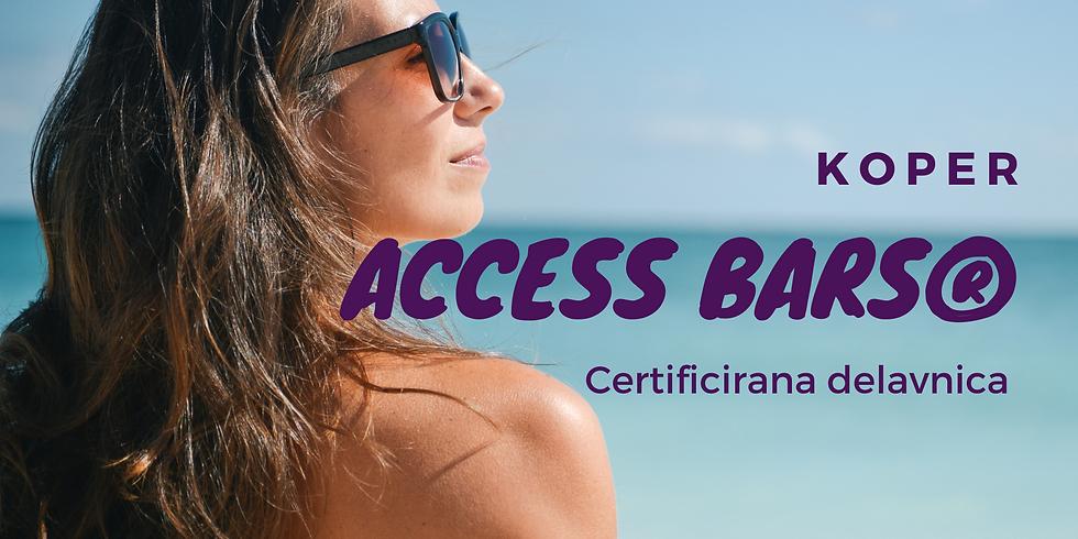Koper: Certificiran tečaj Access Bars® z Boštjanom in Marušo