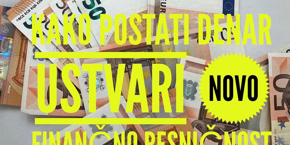 Online: Spletna delavnica Kako postati denar
