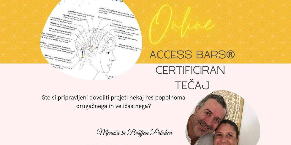 Online: Certificiran tečaj Access Bars®